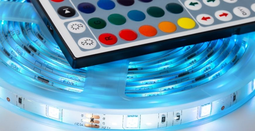 ovládání LED pásku dálkovým ovladačem