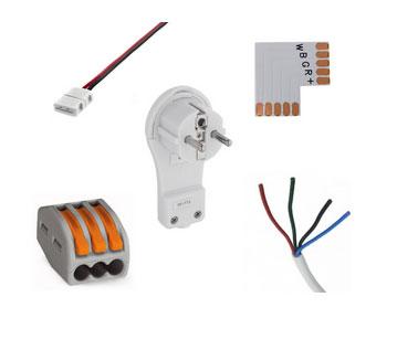 Co je to příslušenství k instalaci LED pásků?