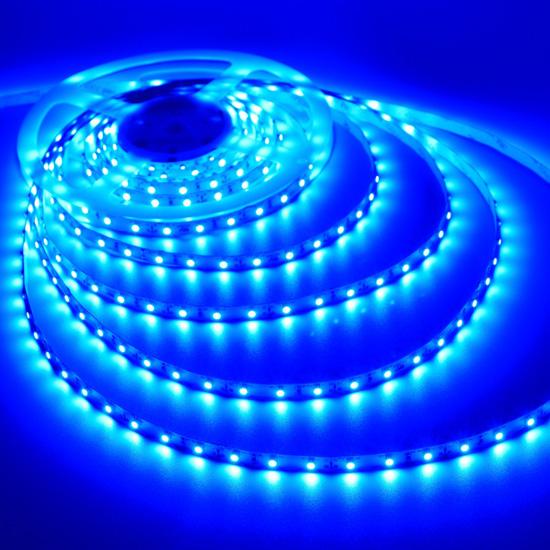 LED pásek modrý 3528 120LED 9,6W 12V IP65 | LEDshopik.cz