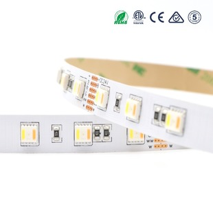 LED pásek 5v1 RGB+CCT 5050 60LED 20W 24V IP20