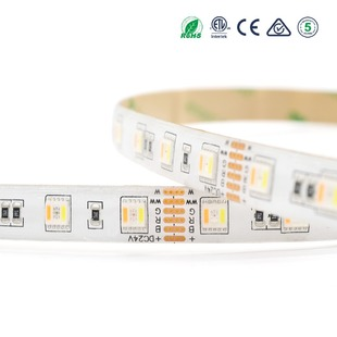 LED pásek 5v1 RGB+CCT 5050 60LED 20W 24V IP65