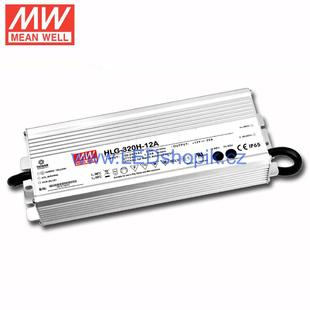 LED zdroj Meanwell HLG-320H-12A | 12V | 264W | 22A | IP65 |