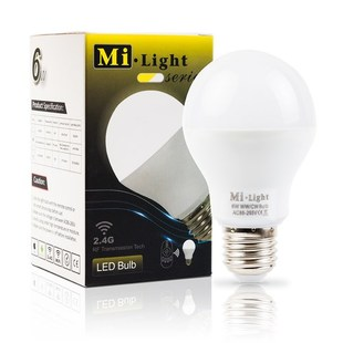 Mi-Light LED žárovka CCT | 6W | E27 |