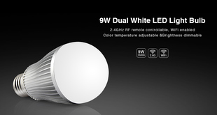 Mi-Light LED žárovka CCT | 9W | E27 |