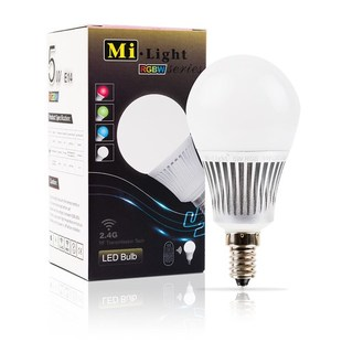 Mi-Light LED žárovka RGB+CW | 5W | E14 |