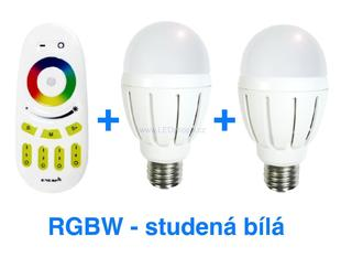 Set LED žárovek Mi-Light+DO RGB+CW | 6W | E27 |